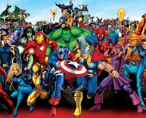 Thème anniversaire Super héros